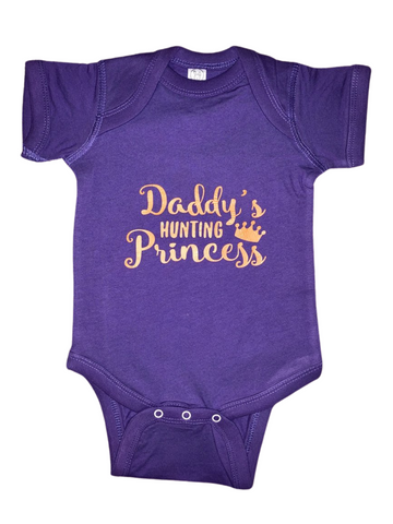 Baby Gear ~ Daddy's Hunting Princess Baby Tee