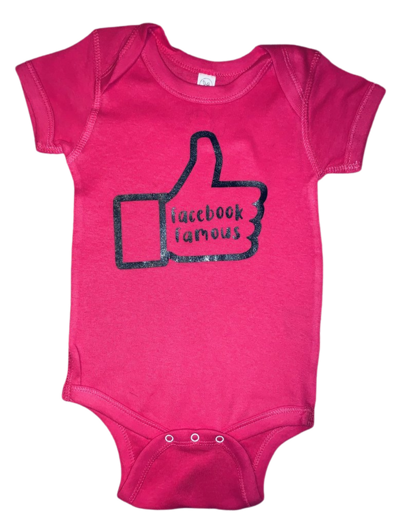 Baby Gear ~ Facebook Famous Baby Tee