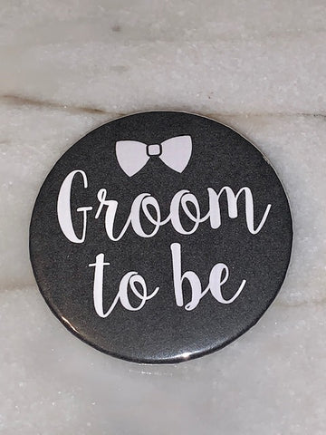 Buttons & Keychains ~ Groom To Be