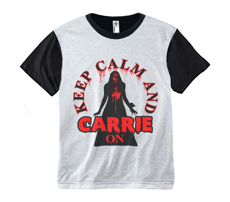 Scary Tee ~ Carrie On