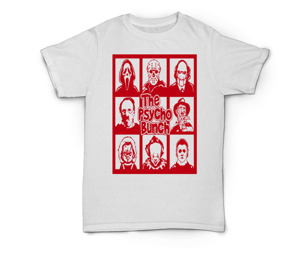 Scary Tee ~ The Psycho Bunch