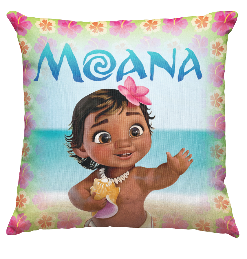 Learning Pillow ~ Moana Baby 18 x 18 Throw Pillow