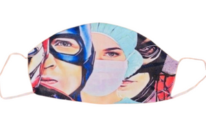 Face Accessories ~ Nurses Are Super Hero's