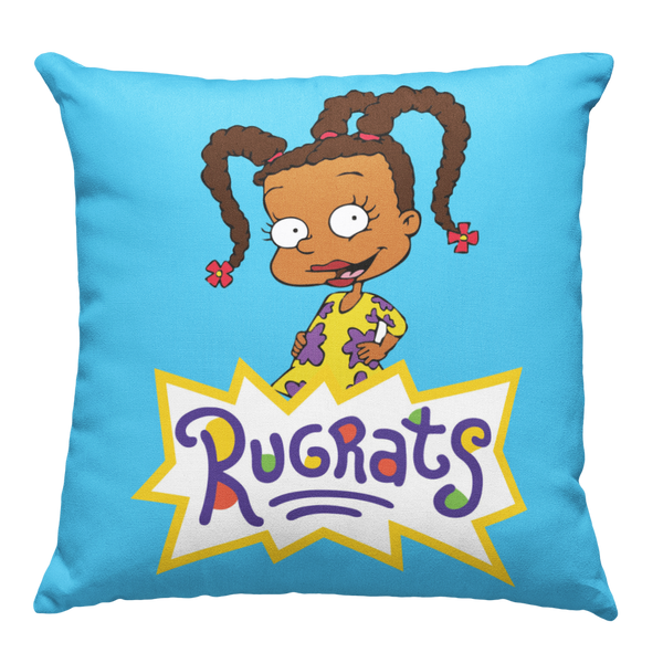 Learning Pillow ~ Rugrats Susie Inspired 18 x 18 Throw Pillow
