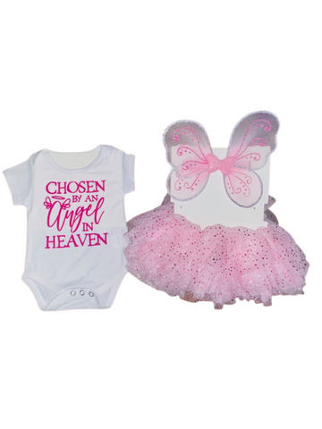 V Day Gift Ideas ~ Chosen By An Angel In Heaven Butterfly Wing & TuTu Set