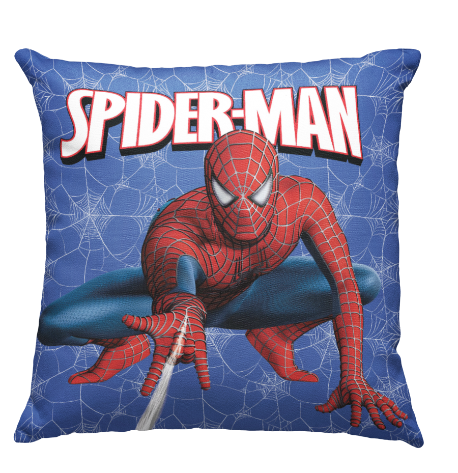 Learning Pillow ~ Spider Man Inspired 18 x 18 Throw Pillow