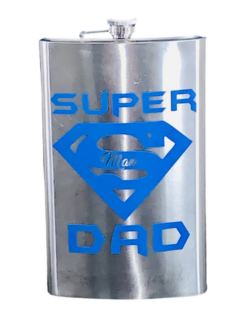 Drink- Ware Collection ~ Super Dad 1/2 Gallon Flask