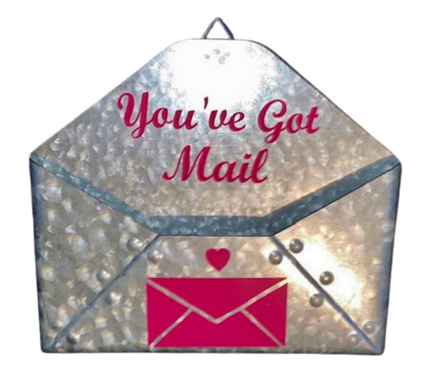Home Decor ~ You've Got Mail ~ Pink