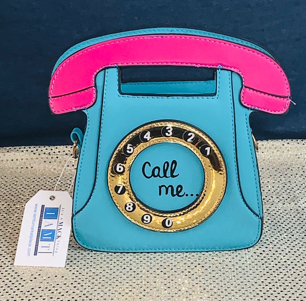 Accessorize Me - Mr. Telephone Man - Retro Phone Handbag