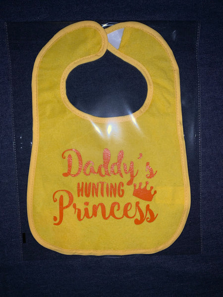 Baby Bibs ~ Daddy's Hunting Princess