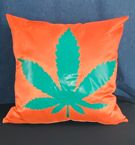 RC 420 Collection ~ Leaf Throw Pillow