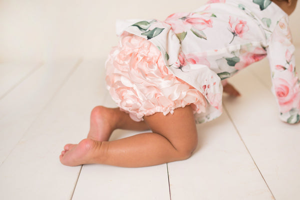 Pink Rosette Bloomers