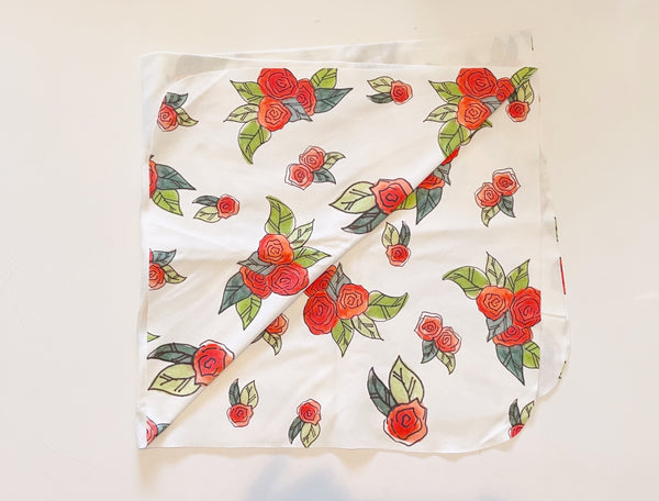 Rose Swaddle Blanket©