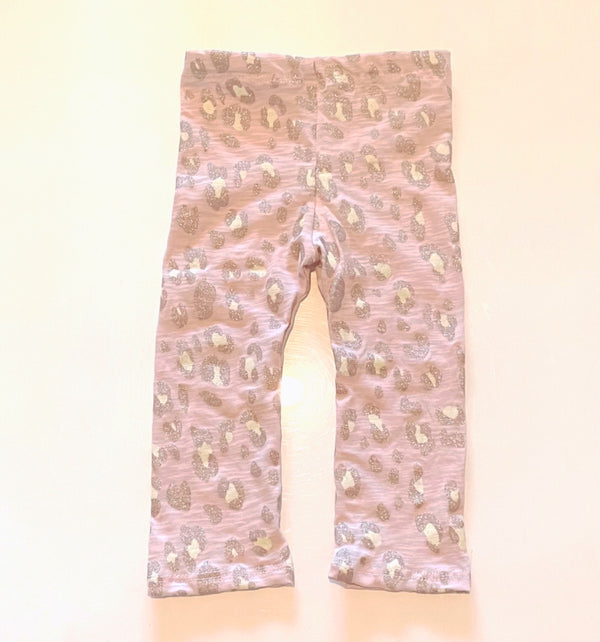 Glitter Leopard Leggings