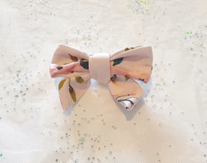 Summer Floral Bow