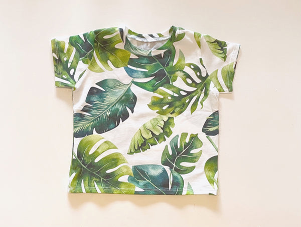Banana Leaf Short Sleeve Tee