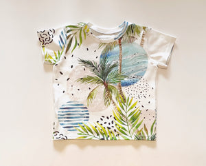 Beach Short Sleeve Tee