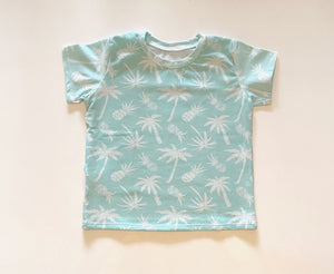 Tropical Pineapple Short Sleeve Tee
