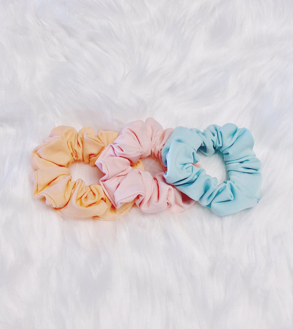 Pastel Easter Scrunchie Set