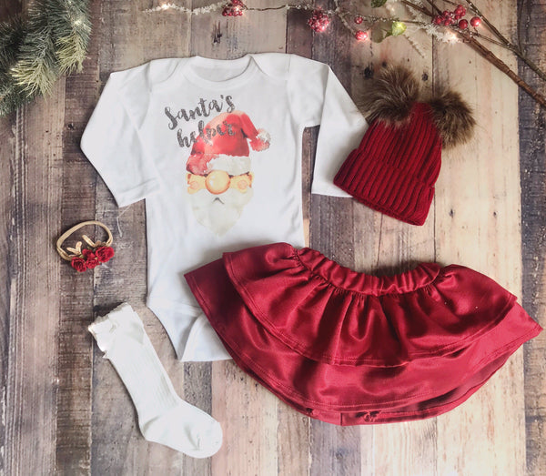 Santa's Helper Shirt/Onesie
