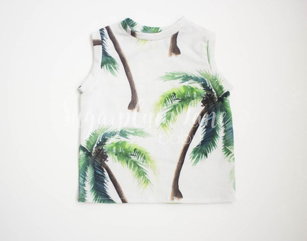 Palm Tree Tank Shirt