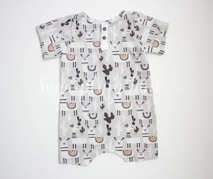 Llama Shorts Romper Rompers And Leotards