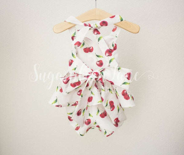 Cherry Romper © Rompers And Leotards