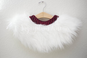 Baby Claus Faux Fur Skirt for Babies and Toddlers