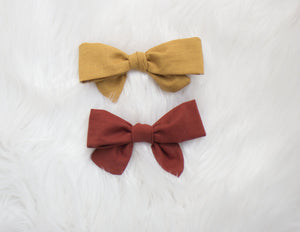 Terracotta OR Mustard Bow