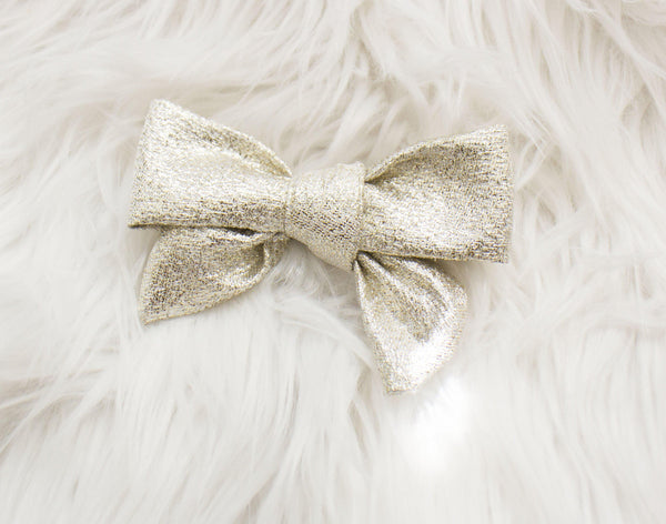 Beautiful Shiny Gold Bow