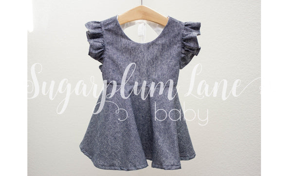 Periwinkle Romper OR Dress
