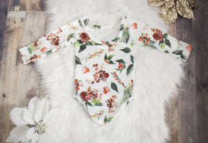 Rose Holly Velvet Leotard