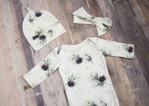 Onesie Set- Pine Tree
