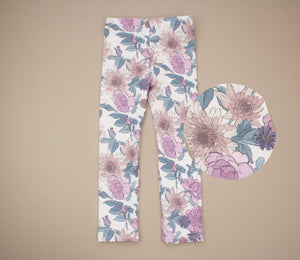 Autumn Flower Leggings
