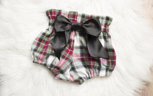 Red and Green Flannel Plaid Bloomers