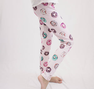 Pink Donut Leggings
