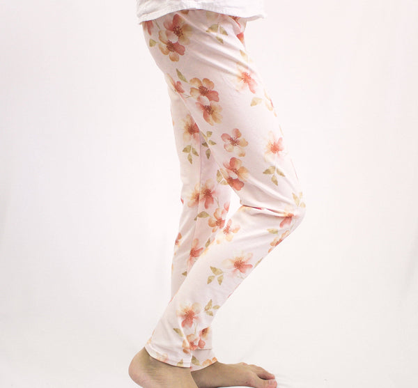 Amber Flower Leggings