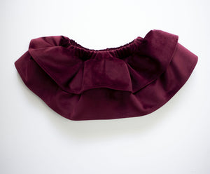 Ruby Velvet Ruffled Skirt Bloomers