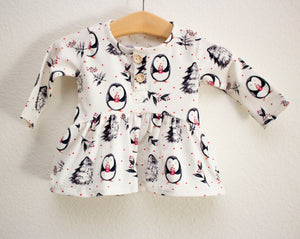 Penguin Button Shirt©