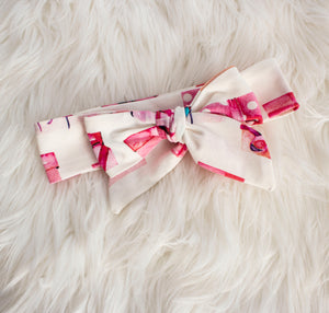 Christmas Gift Bow Headband