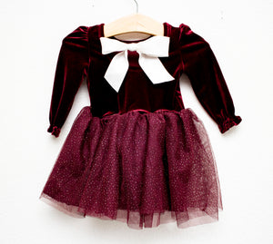 Baby Claus Sparkle Twirl Dress ©