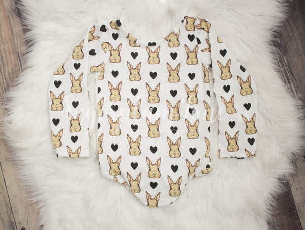 Rabbit Love Leotard/Peplum/or Dress