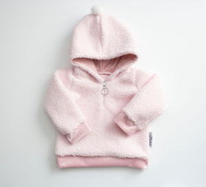 Pink Sherpa Pull Over ©