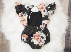 Autumn Flower Dress OR Romper ©