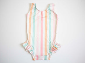 Retro Stripe Swimsuit