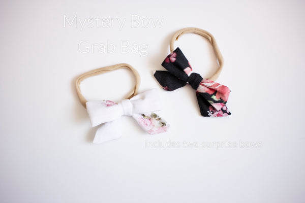 Surprise Mystery Hair Bow Set- includes 2 bows
