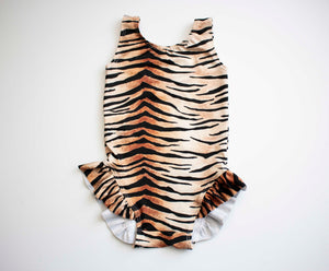 Tiger Stripe Swimsuit