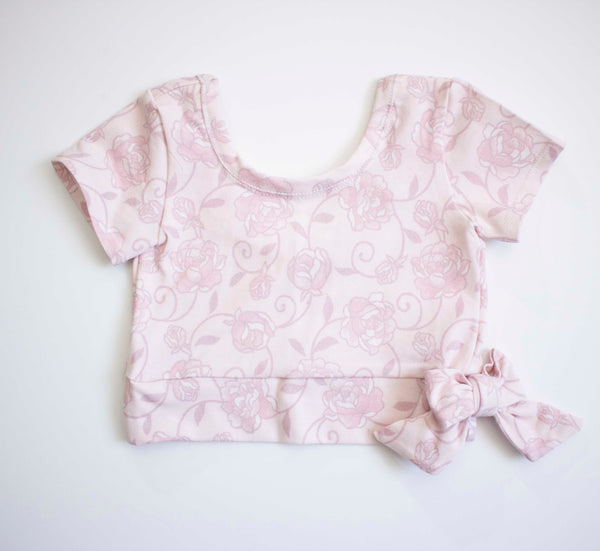 Rose Bow Top