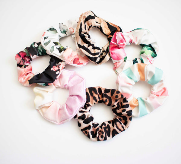 Swimsuit Scrunchie- Choose your Print