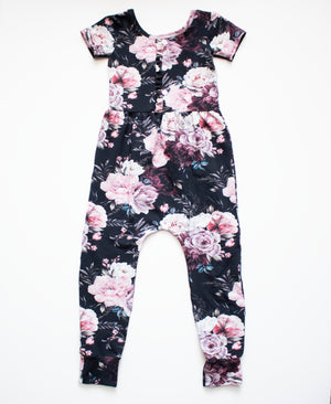 6-12 Month Secret Garden Knit Romper ©